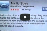 A video How to download the Arctic Spas Phone App