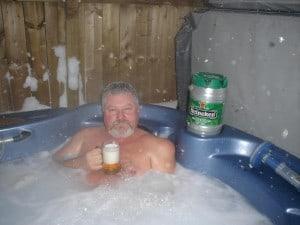 pat and kathy hot tub 1 300x225 1